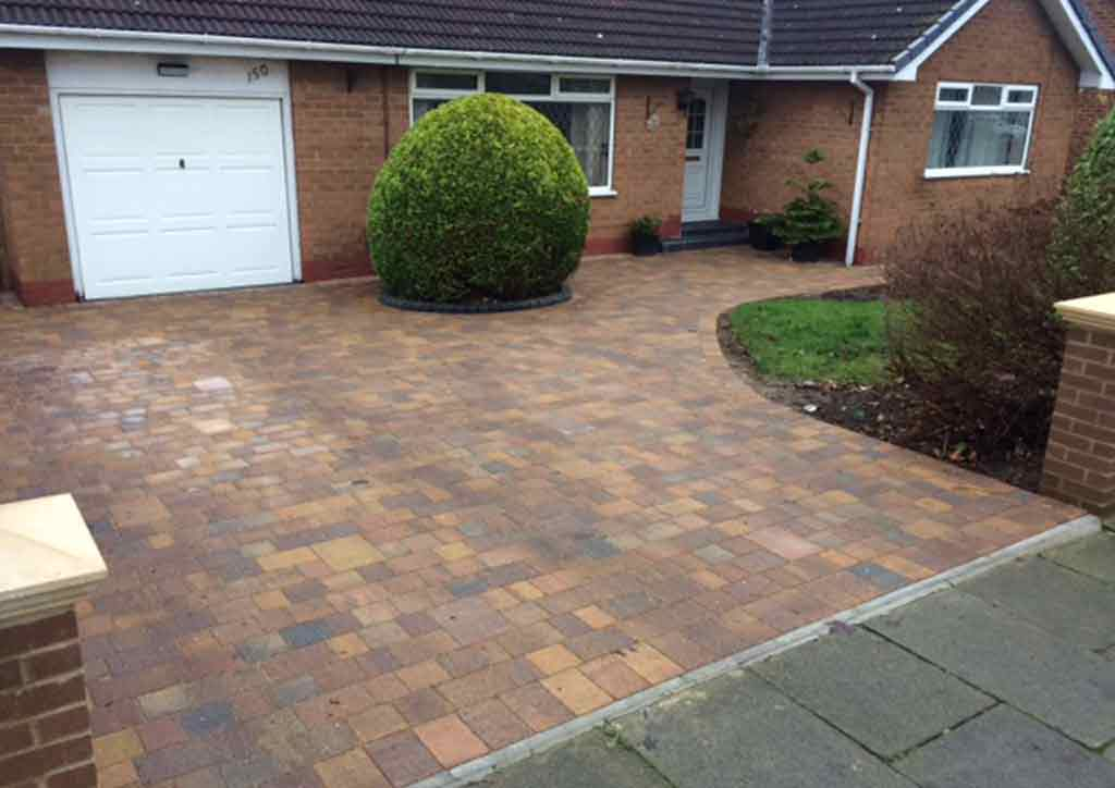 Marshalls Tegula Driveway Indian Sandstone Patio Paving