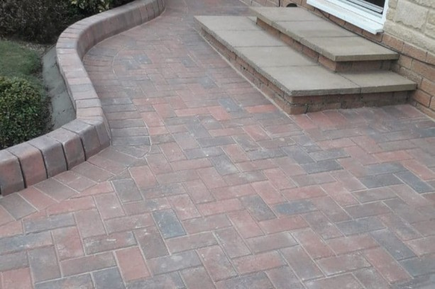 60m2 Brindle Block Paving Lanchester