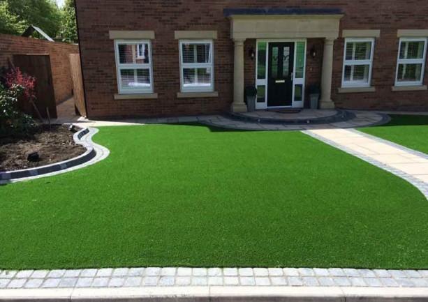 Durham Marshalls Paving & Artificial Lawn Installation