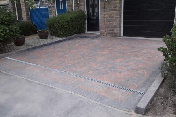 Brindle Block Paving Gosforth
