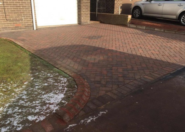 40m2 Brindle Block Paving Birtley