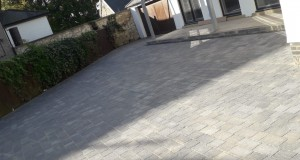 180m2 Charcoal Paving In Sunderland