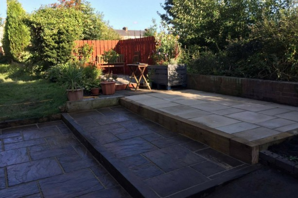 Garden Paving Marshalls Firestone Fired York