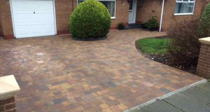Marshalls Tegula Driveway and Indian Sandstone Patio Paving