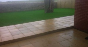 Whitburn Sunderland Paving Project with a LazyLawn