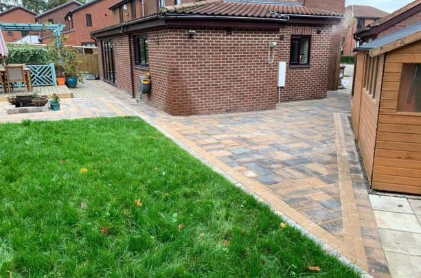 Tobermore Block Paving Bracken