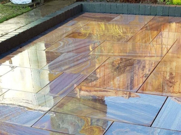 Rainbow Polished Paving
